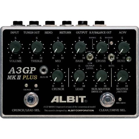 ALBIT-GUITAR PRE-AMPA3GP MARK II PLUS