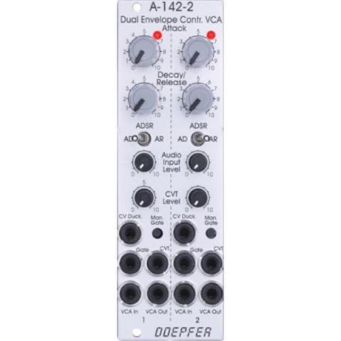Doepfer-エンベローブジェネレーターA-142-2 Dual Envelope Controlled VCA