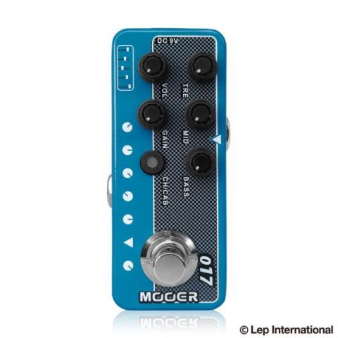 MOOER-マイクロプリアンプMicro Preamp 017
