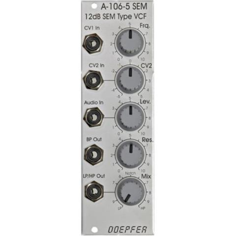 Doepfer-VCFA-106-5 12dB SEM Multimode Filter