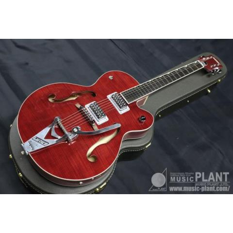 GRETSCH-フルアコースティックギターG6120-BSHR-RRT Brian Setzer Hot Rod Romance Red 2-Tone