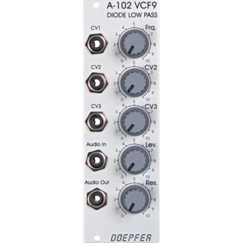 Doepfer-ローパスフィルターA-102 VCF9 Diode Low Pass