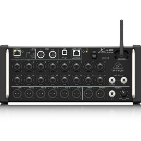 BEHRINGER-タブレットコントロール16INデジタルミキサーXR18 X AIR
