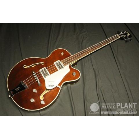 GRETSCH-フルアコベースG6119B Broadkaster Bass Walnut Stain