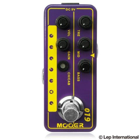 MOOER-マイクロプリアンプMicro Preamp 019