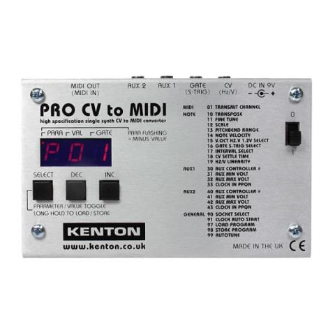 KENTON Electronics-USBコンバーターPRO CV to MIDI