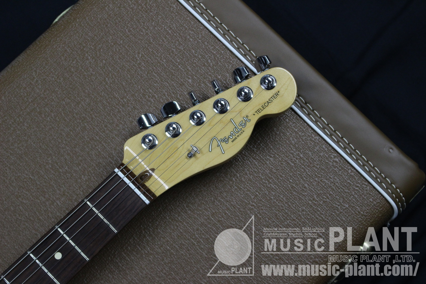 2012 Limited 60th Anniversary Tele-bration Lite Rosewood Telecasterヘッド画像