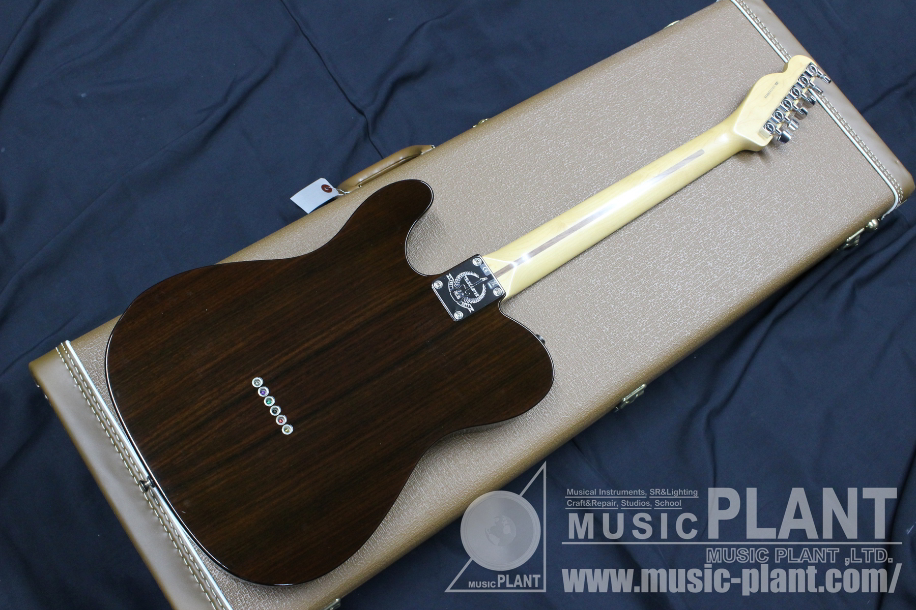 2012 Limited 60th Anniversary Tele-bration Lite Rosewood Telecaster背面画像