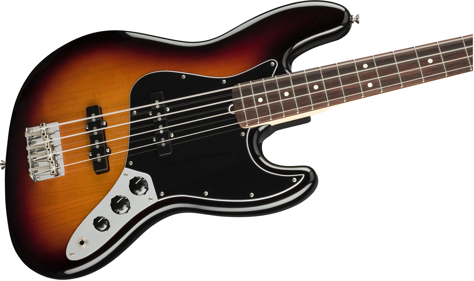 American Performer Jazz Bass 3-Color Sunburst追加画像
