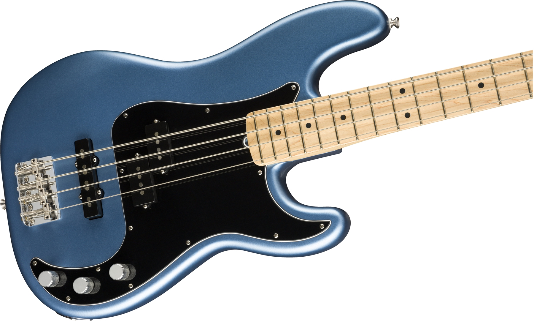 American Performer Precision Bass Satin Lake Placid Blue追加画像