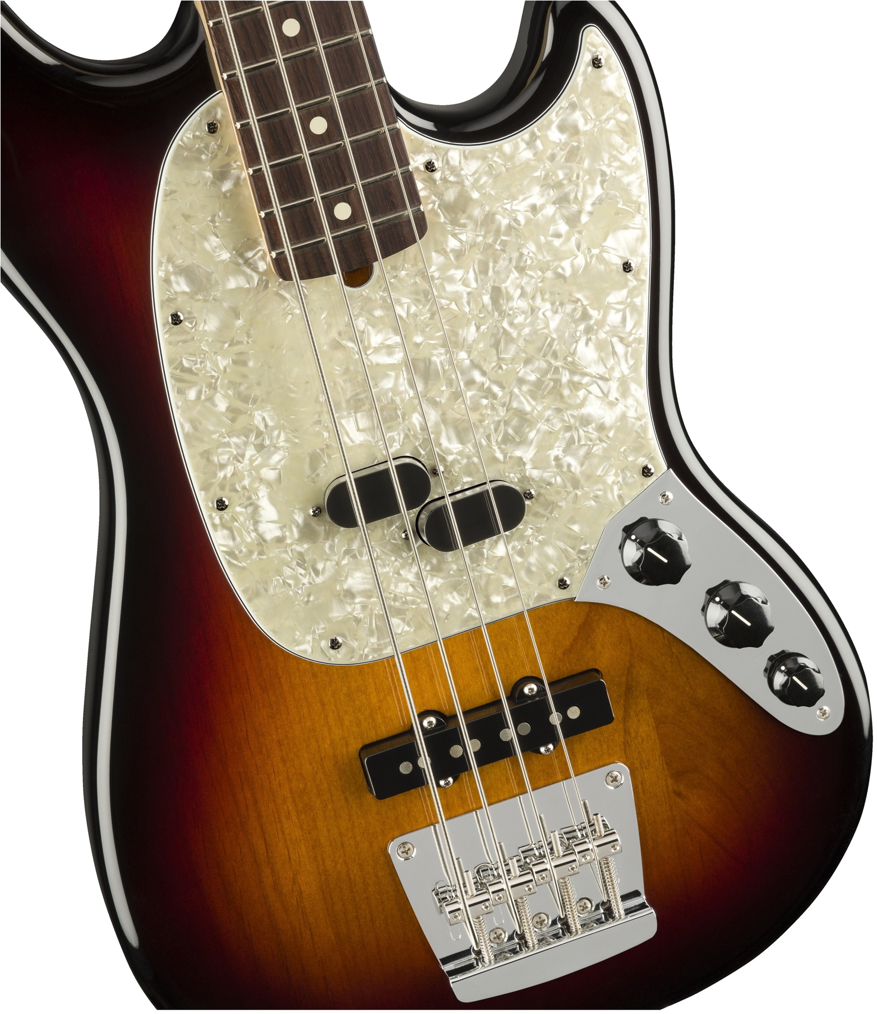American Performer Mustang Bass  3-Color Sunburst追加画像
