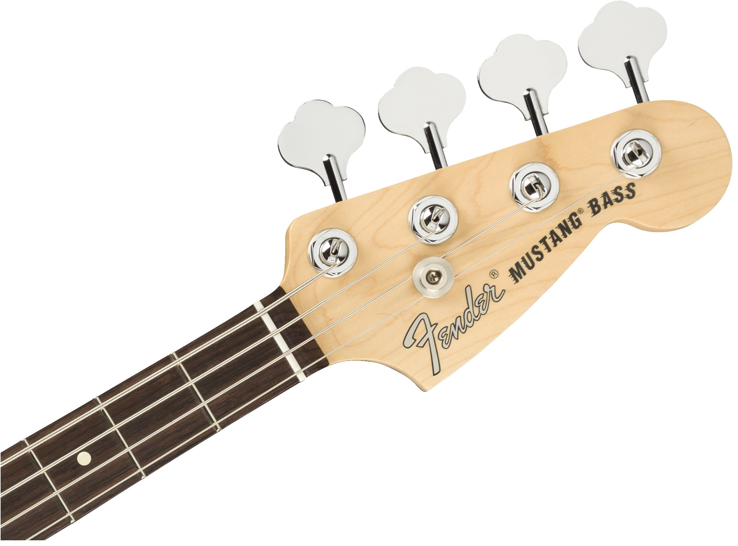 American Performer Mustang Bass  3-Color Sunburstヘッド画像