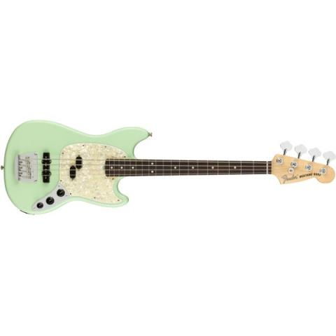 American Performer Mustang Bass Satin Surf Greenサムネイル