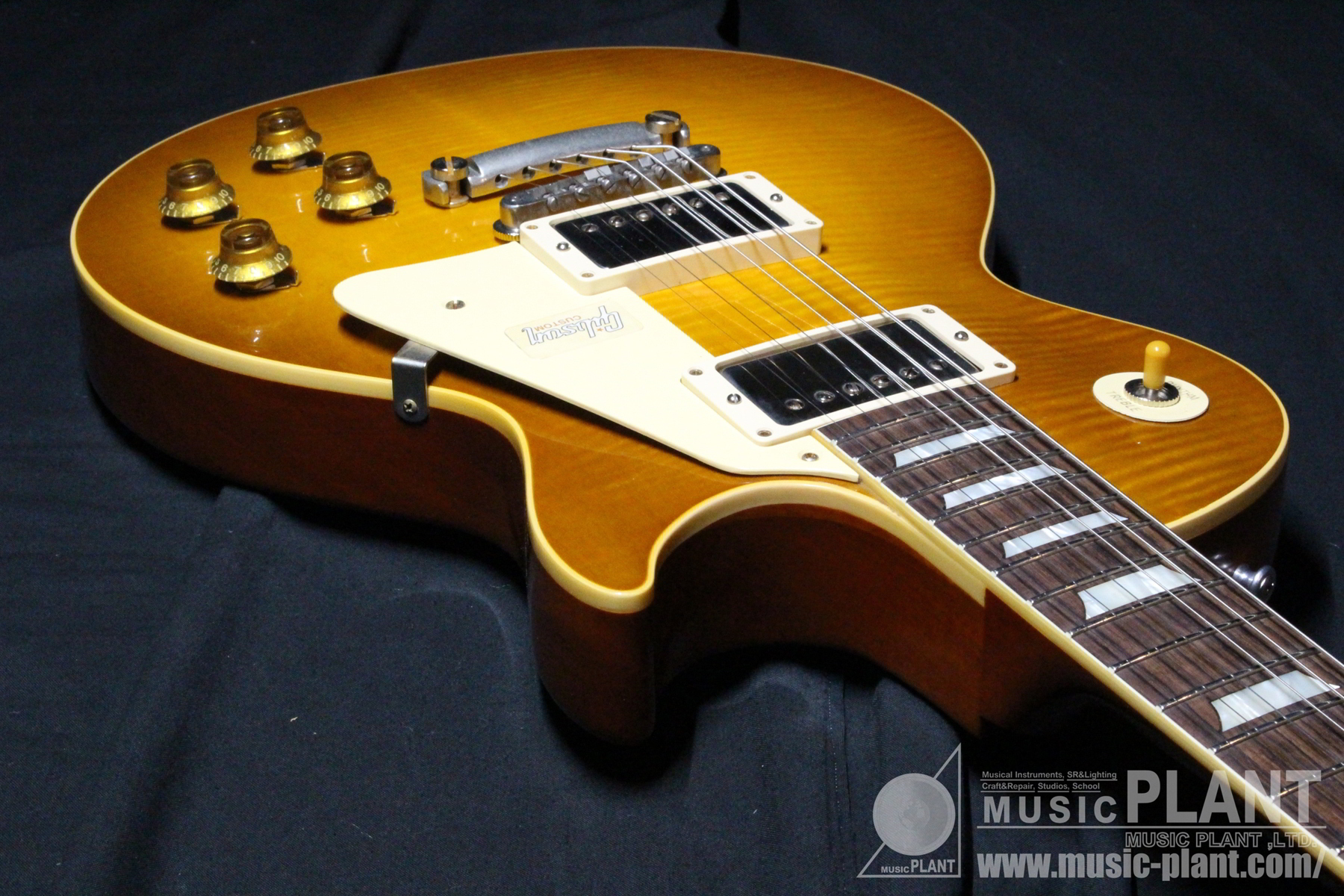 1958 Les Paul HRM VOS Double Dirty Lemon追加画像