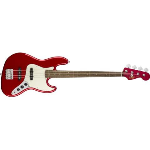 Squier-ジャズベースContemporary Jazz Bass Dark Metallic Red