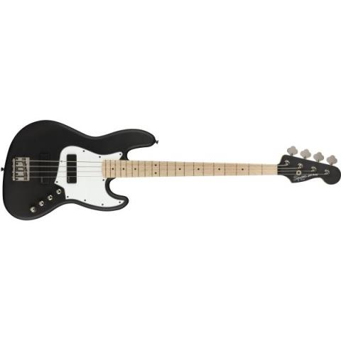 Squier-ジャズベースContemporary Active Jazz Bass HH Flat Black