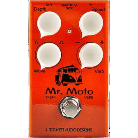 J.ROCKETT AUDIO DESIGNS (J.RAD)-Tremolo / ReverbMR. MOTO TREMOLO & REVERB