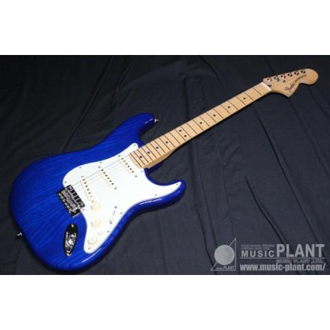 Fender-ストラトキャスターDeluxe Stratocaster Sapphire Blue Transparent