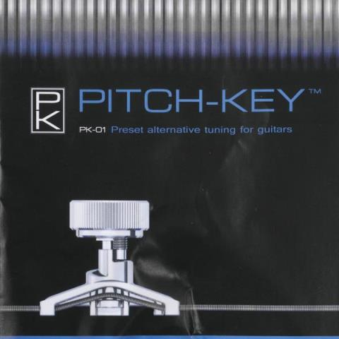 Pitch-Key-Preset alternative tunings for GuitarPitch-Key PK-01