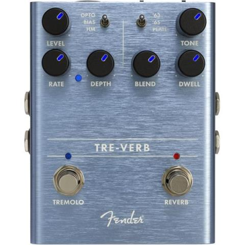 Fender-Digital Reverb/TremoloTre-Verb Digital Reverb/Tremolo