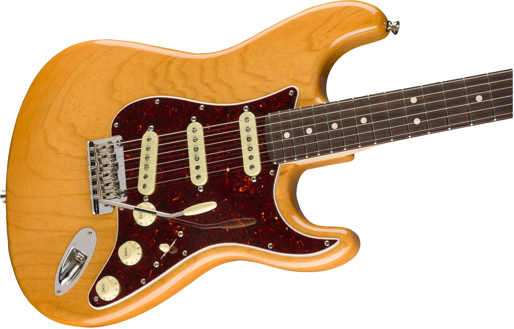 Limited Edition Lightweight Ash American Professional Stratocaster, Rosewood Fingerboard, Aged Natural追加画像