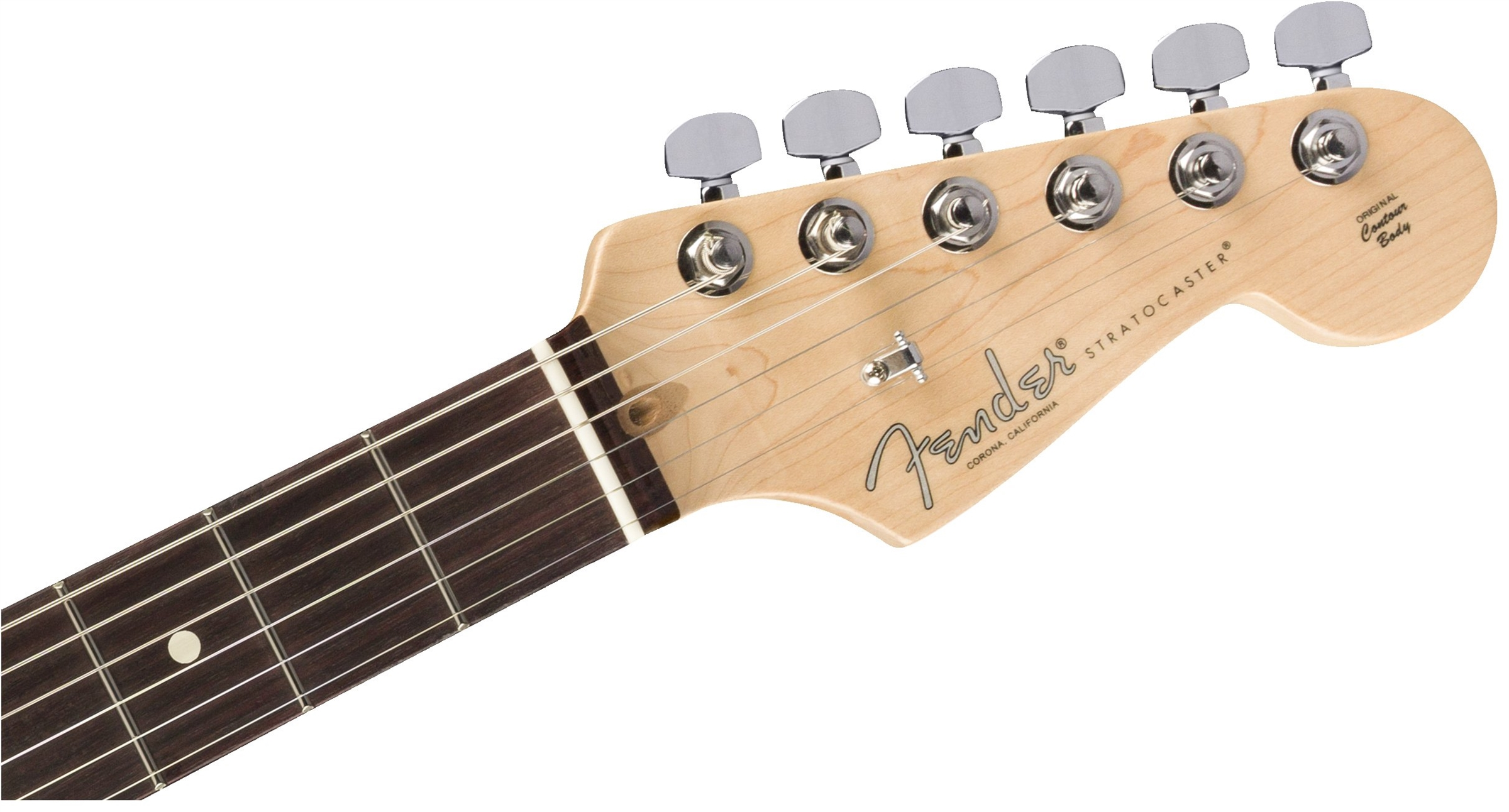 Limited Edition Lightweight Ash American Professional Stratocaster, Rosewood Fingerboard, Aged Naturalヘッド画像