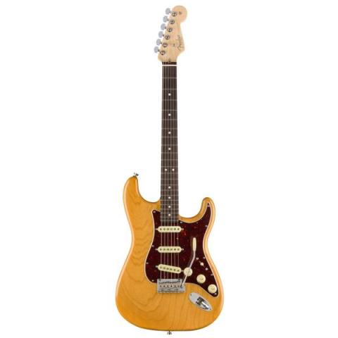 Fender-ストラトキャスターLimited Edition Lightweight Ash American Professional Stratocaster, Rosewood Fingerboard, Aged Natural