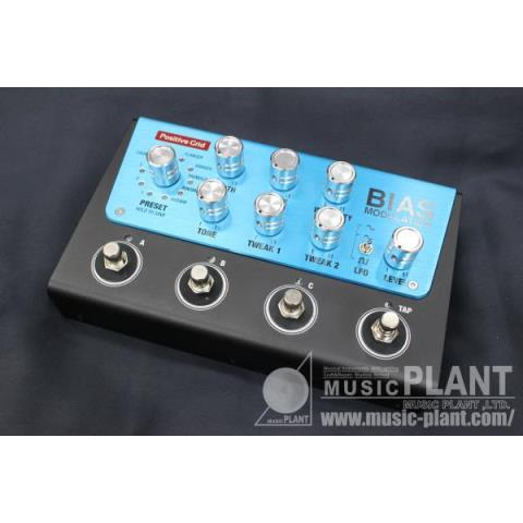 Positive Grid-モデュレーションペダルBIAS Modulation - Tone Match Modulation Pedal (4 Button)