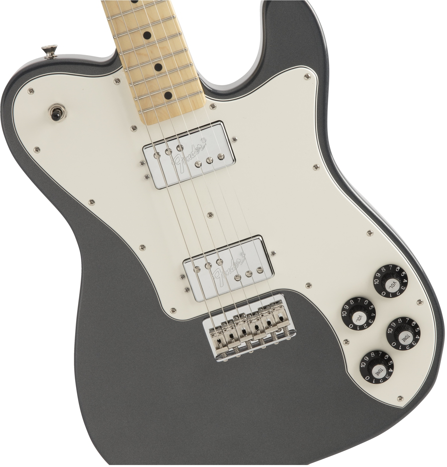 Made in Japan Hybrid Telecaster Deluxe Charcoal Frost Metallic追加画像