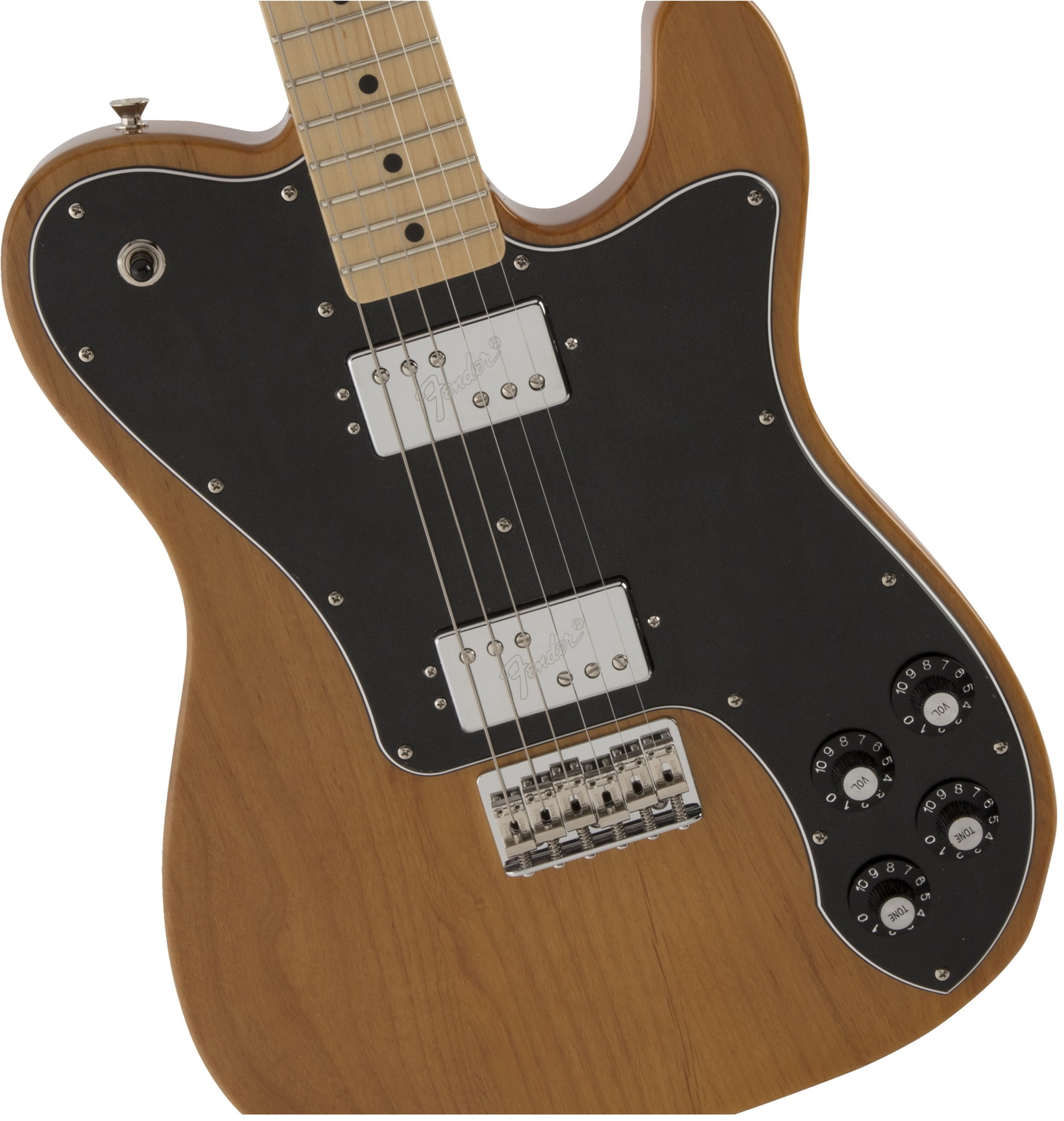 Made in Japan Hybrid Telecaster Deluxe Vintage Natural追加画像