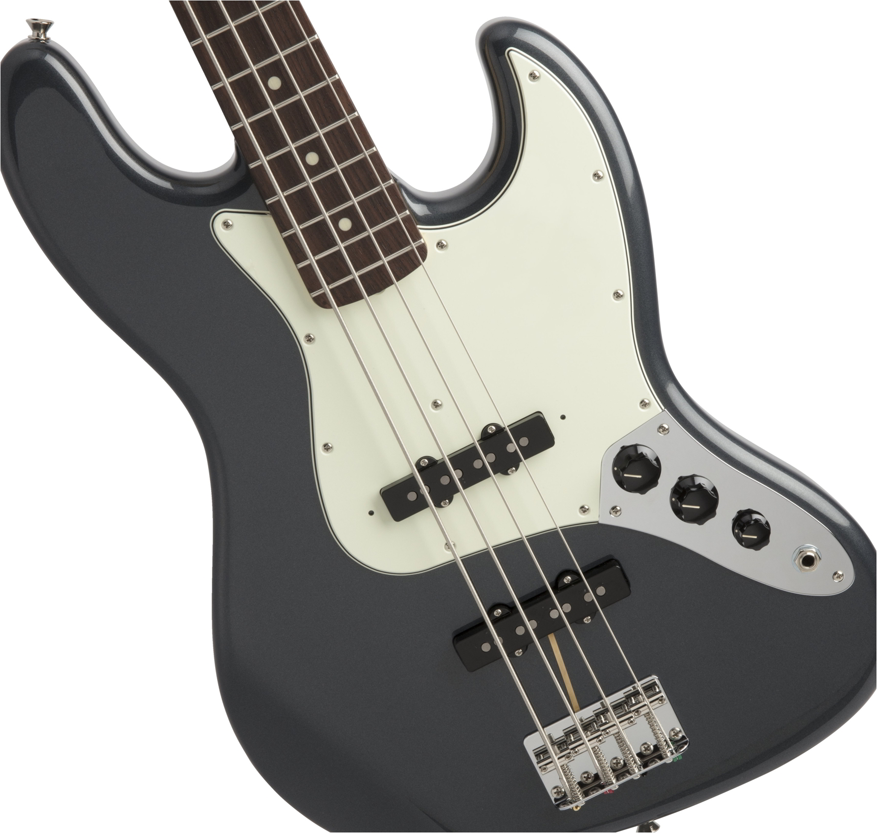 Made in Japan Hybrid 60s Jazz Bass Charcoal Frost Metallic追加画像