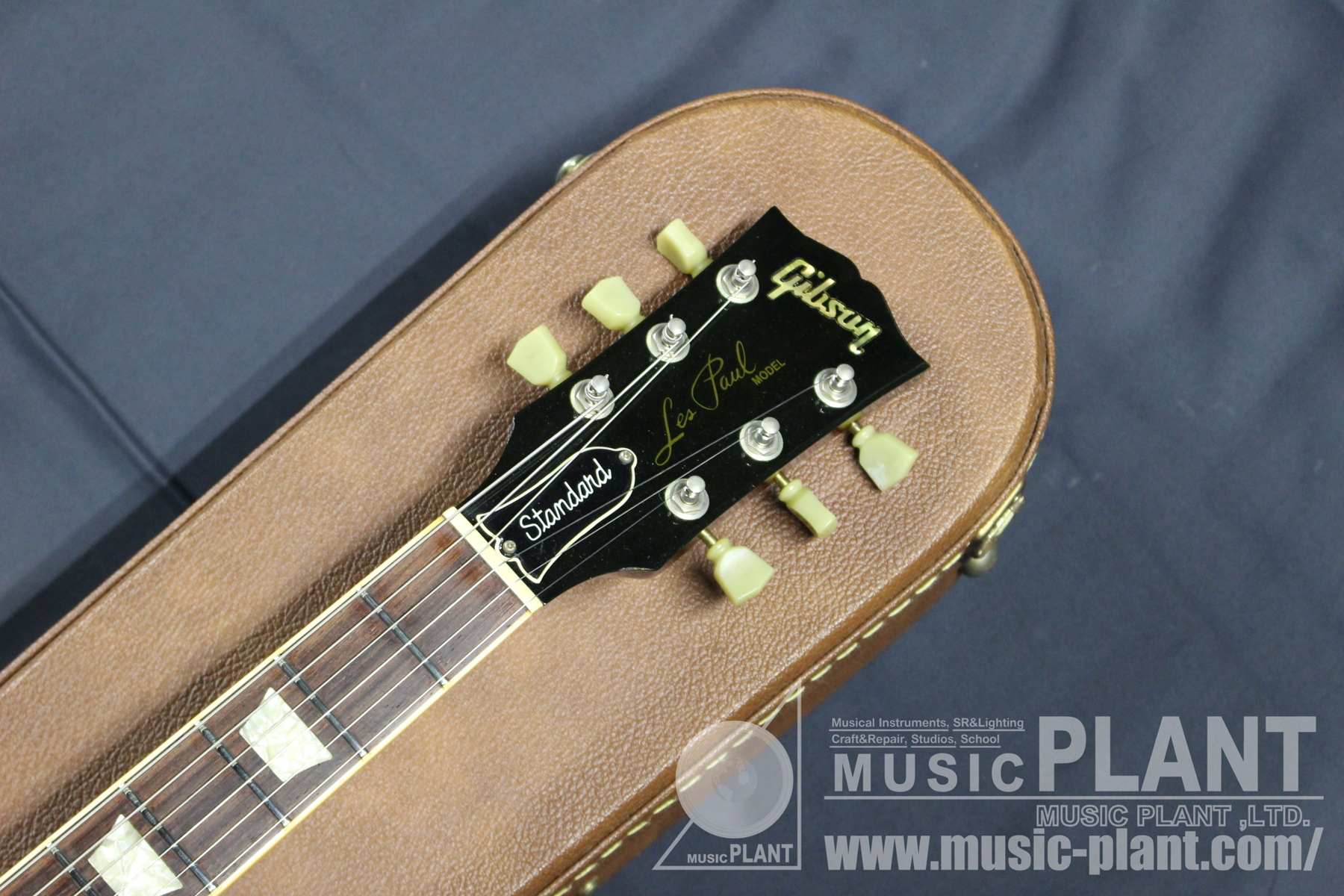 1996 Les Paul Standard Honey Burstヘッド画像