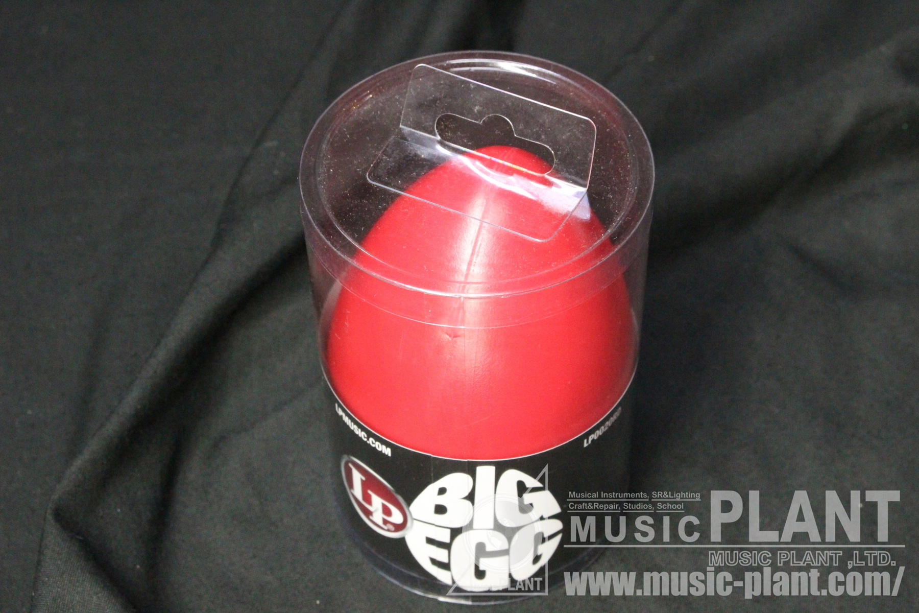LP0020RD  BIG EGG SHAKER - RED追加画像