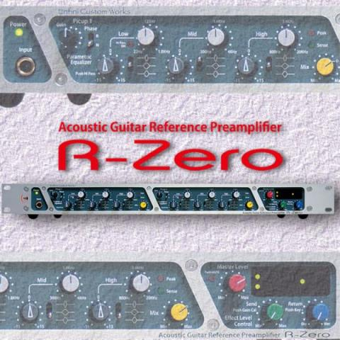 Enfini CustomWorks-Acoustic Guitar Reference PreamplifierR-Zero