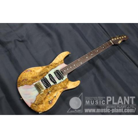 ESP-エレキギターSNAPPER-CTM Eucalyptus Top