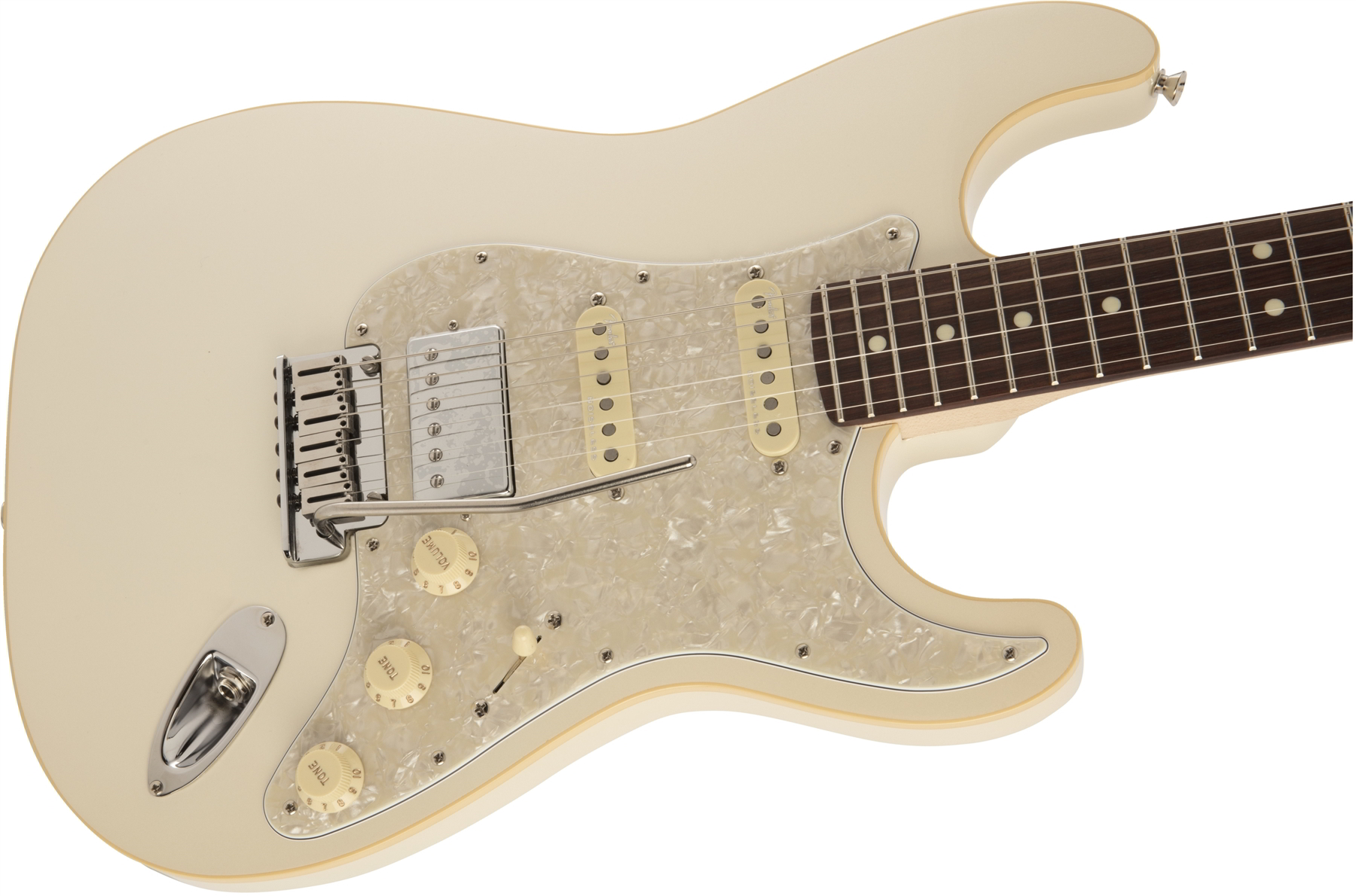 MADE IN JAPAN MODERN STRATOCASTER HSS Olympic Pearl追加画像