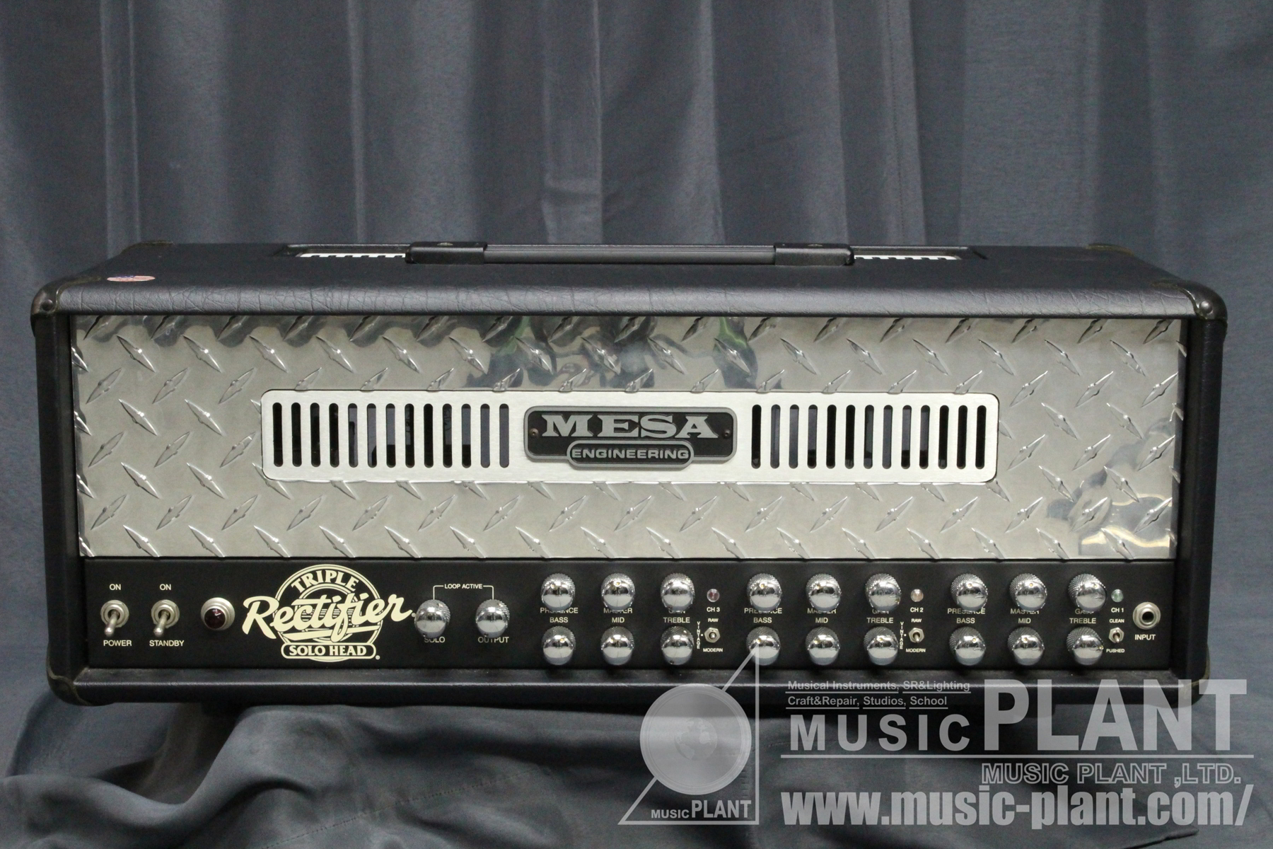 Triple Rectifier Solo Headパネル画像