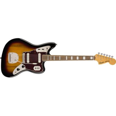 SquierSQ CV 70s JAGUAR  3-Color Sunburst