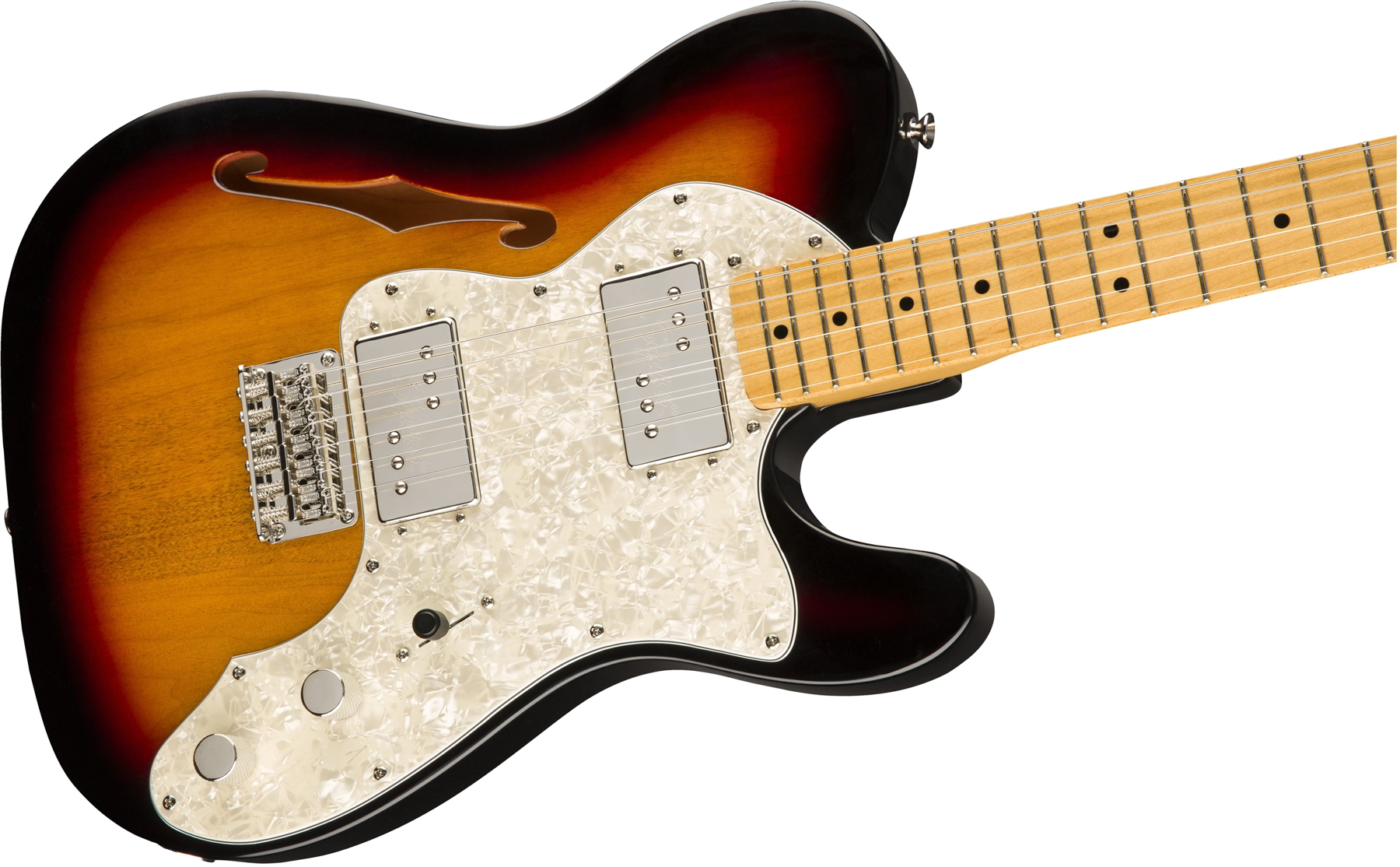 SQ CV 70s TELE THINLINE  3-Color Sunburst追加画像