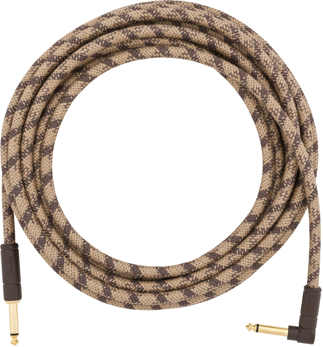 Festival Hemp Instrument Cables Brown Stripe 18.6FT追加画像