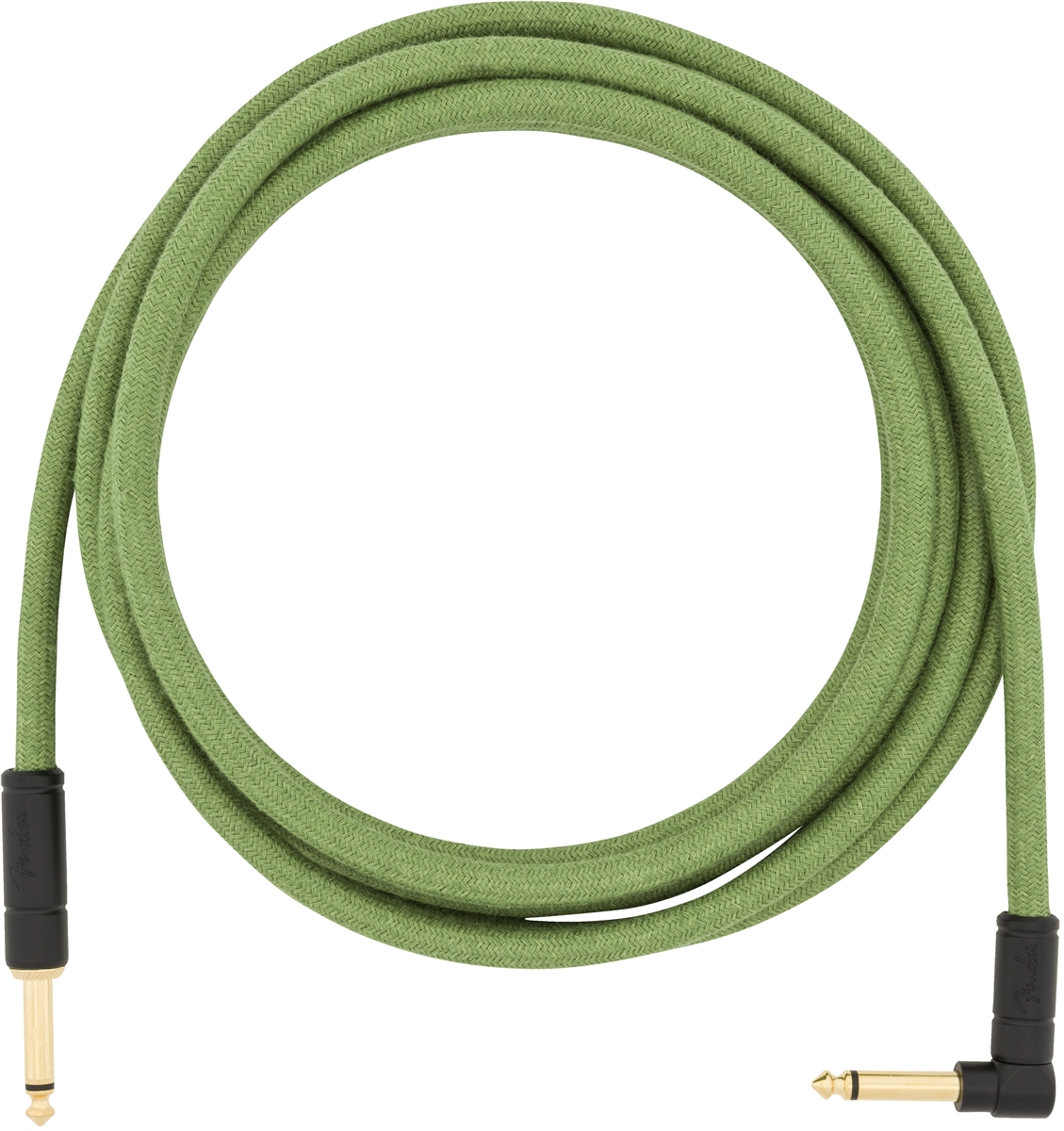Festival Hemp Instrument Cables Green 10FT追加画像