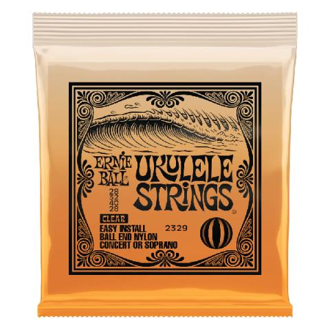 ERNIE BALL2329 UKULELE STRINGS CLEAR