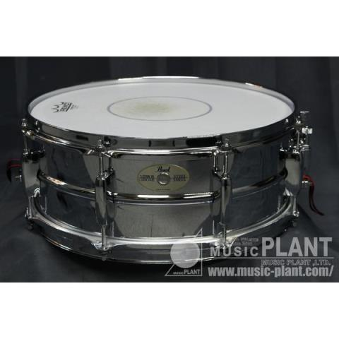 Pearl-スチールスネアMIRROR CHROME STEEL SHELL 14x5.5
