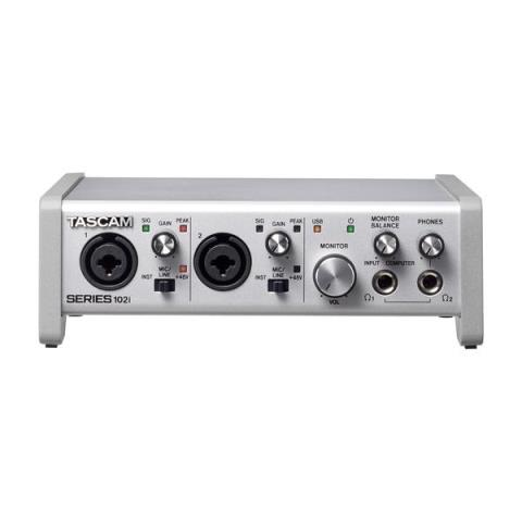 TASCAM-10 IN/2 OUT USB Audio/MIDI InterfaceSERIES 102i
