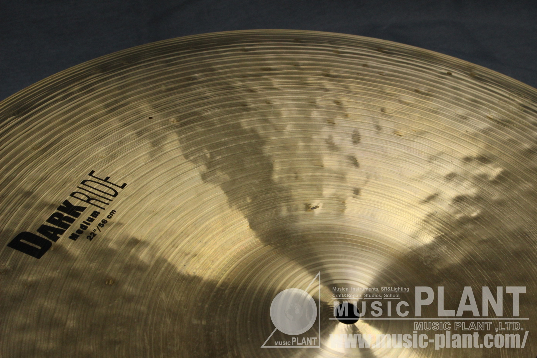 K-Zildjian dark Medium Ride 22追加画像