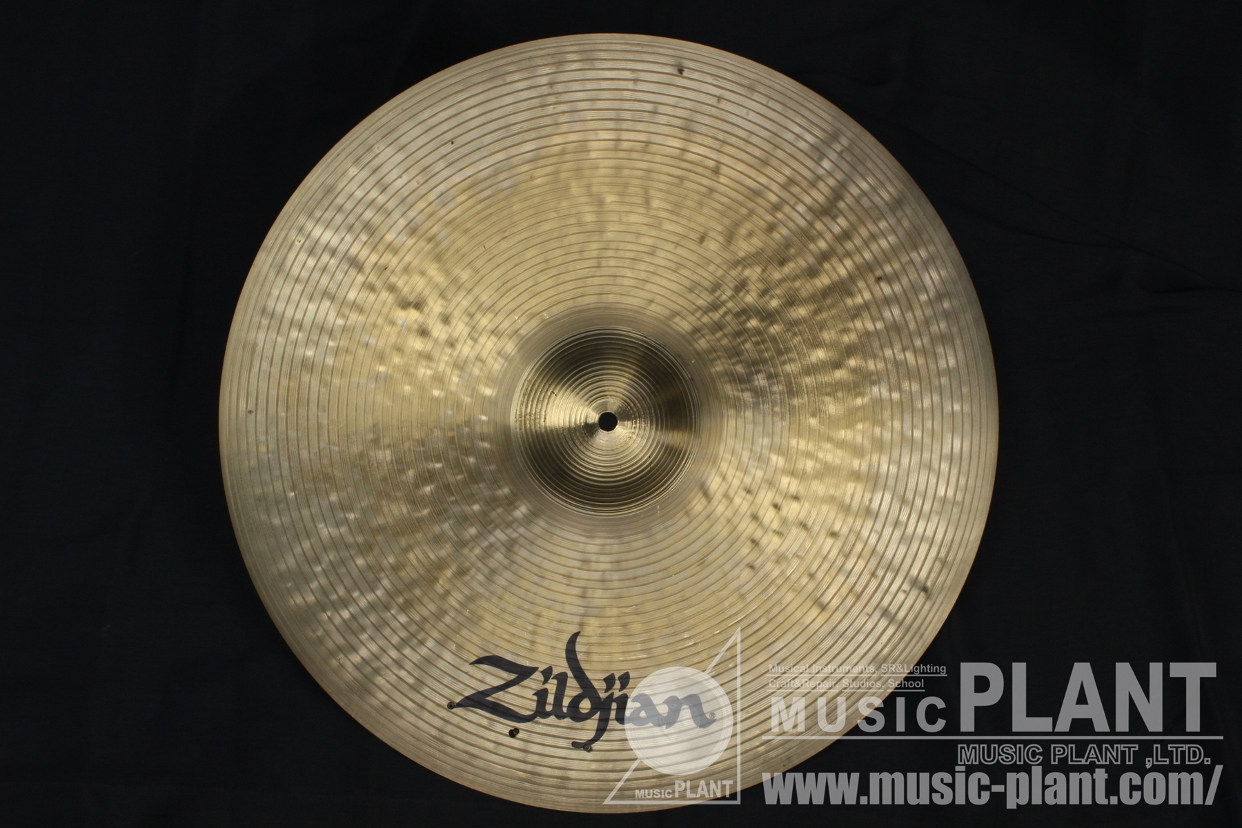 K-Zildjian dark Medium Ride 22背面画像