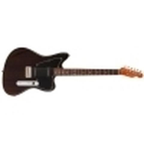 Fender-エレキギターLimited Mahogany Offset Telecaster P90 Black Trans
