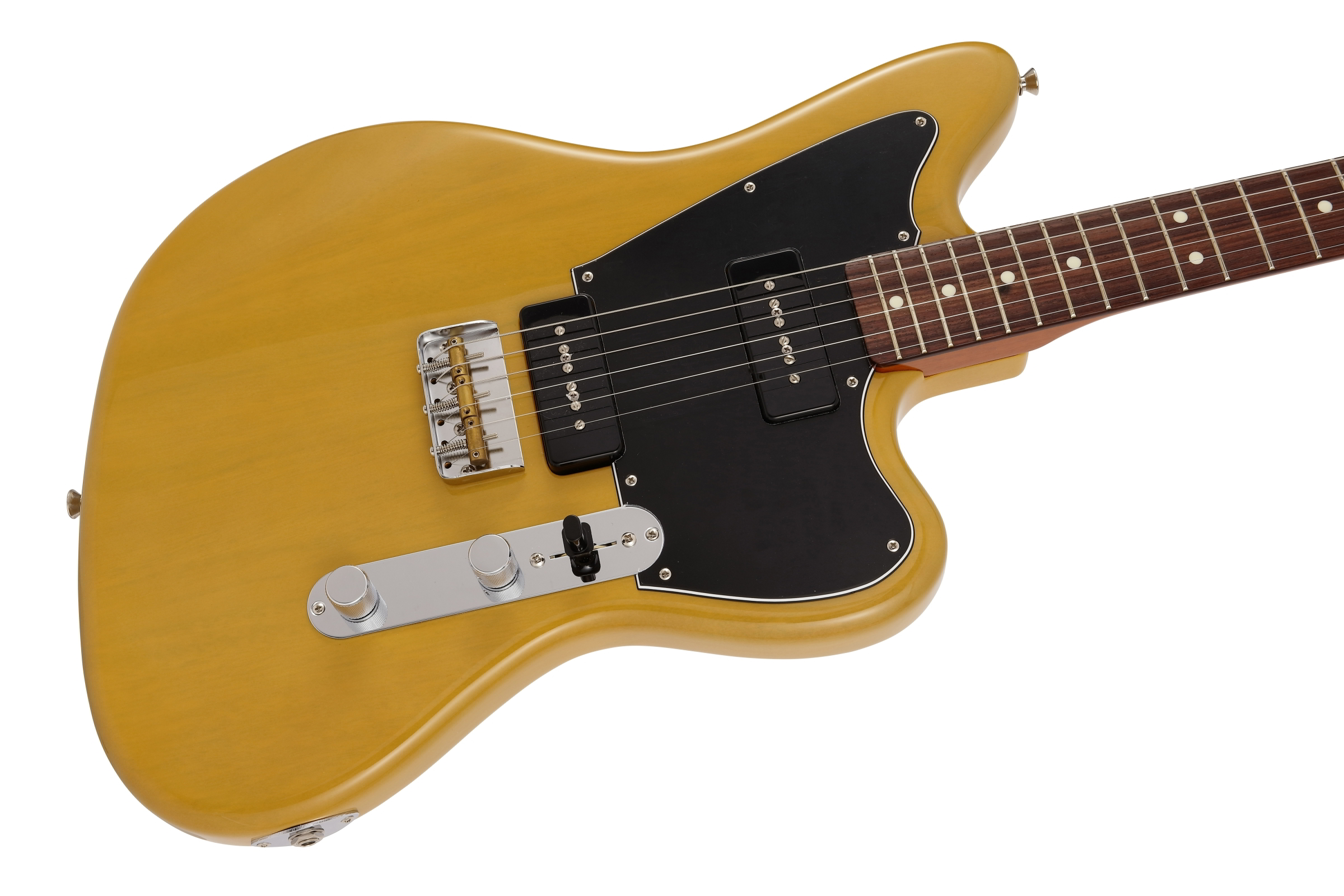 Limited Mahogany Offset Telecaster P90  Yellow Trans追加画像