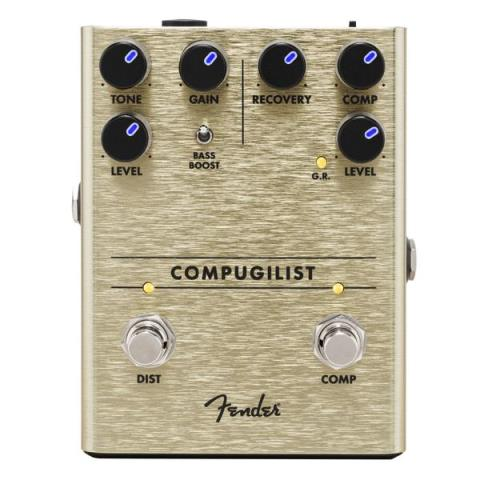 Fender-ディストーションCompugilist Compressor/Distortion