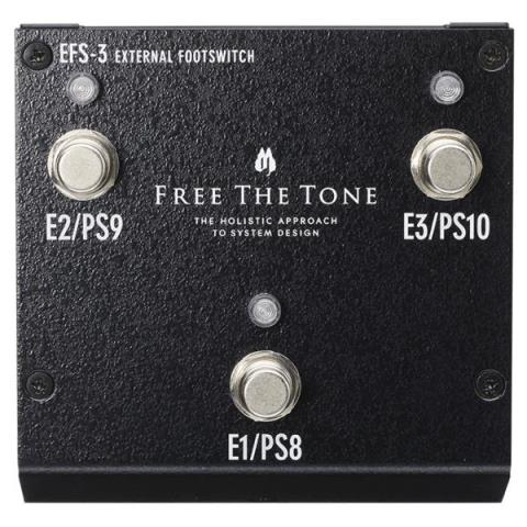 Free The Tone-EXTERNAL FOOTSWITCHEFS-3 ARC-4専用拡張フットスイッチ